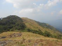 Ponmudi wzgórza stacja blisko Thiruvananthapuram, Kerala Obraz Stock