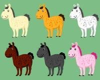 ponny stock illustrationer