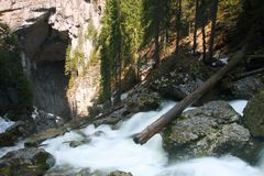 ponorului jaskiniowy Fotografia Stock