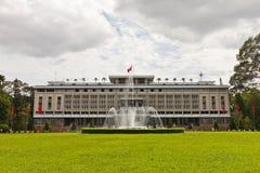 Ponowne zjednoczenie pałac. Ho Chi Minh miasto, Wietnam fotografia stock