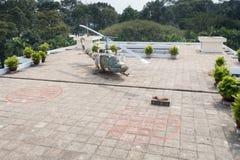 Ponowne zjednoczenie pałac niezależności pałac w Ho Chi Minh mieście f zdjęcie stock