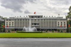 Ponowne zjednoczenie pałac w Ho Chi Minh mieście, Wietnam Zdjęcia Stock