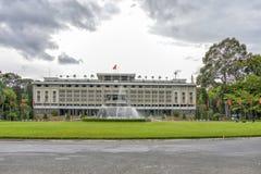 Ponowne zjednoczenie pałac w Ho Chi Minh mieście, Wietnam obraz stock