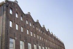 Ponowny Stary budynek, Amsterdam obrazy stock