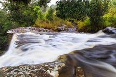 Ponpobmai waterfall in Phu Kradueng National Park, Loei province Stock Image