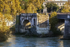 Pons Aemilius, Rome Royalty Free Stock Photography