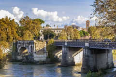 Pons Aemilius, Rome Stock Photography