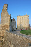 Pons Castle, France Stock Photo