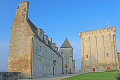 Pons Castle, France Royalty Free Stock Images