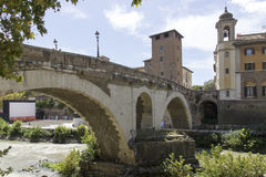 Pons Fabricius Royalty Free Stock Images