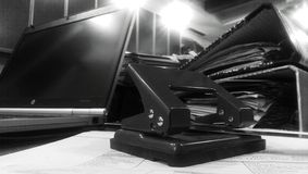 Ponsenmachine Royalty-vrije Stock Afbeeldingen
