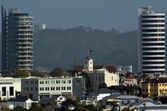 Ponsonby市地平线在奥克兰新西兰 库存照片