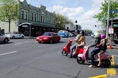 Ponsonby Auckland Nya Zeeland NZ NZL Royaltyfria Foton