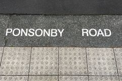 Ponsonby road in auckland, New Zealand Stock Photos