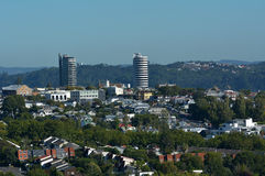 Ponsonby skyline Auckland New Zealand Stock Images