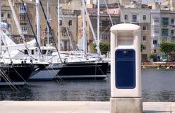 Pontão do porto Fotografia de Stock Royalty Free