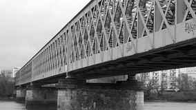 Pont火车 库存照片