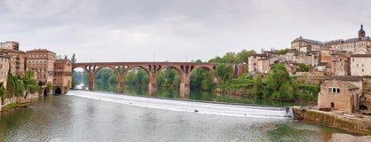 Pont à Albi, France photo libre de droits
