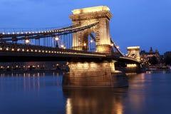 Pont à chaînes Images stock
