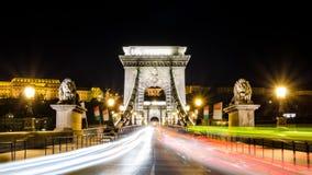 Pont à chaînes Photos libres de droits