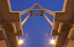 Pont à Dubaï photographie stock