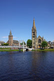 Pont à Inverness, Ecosse Images libres de droits