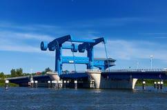 pont à l'île d'Usedom Photo libre de droits