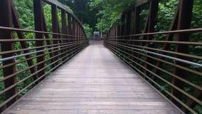Pont à la caverne perdue de rivière au Kentucky Image stock