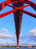 Pont à Lisbonne Photographie stock libre de droits