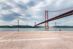 Pont à Lisbonne, Portugal photographie stock libre de droits