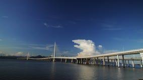 Pont à Shenzhen, Chine Photo stock