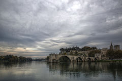 Pont święty Benezet Obrazy Royalty Free