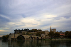 Pont święty Benezet Obraz Royalty Free