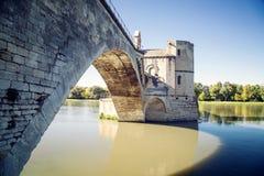 Pont święty w Avignon Zdjęcia Stock