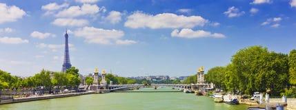 Pont Александр III Стоковые Фотографии RF