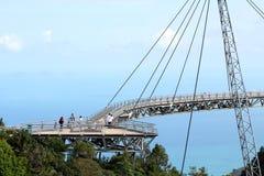 Pont 02 en ciel de Langkawi Images stock
