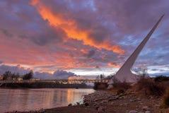 Pont 235 en cadran solaire Photographie stock libre de droits