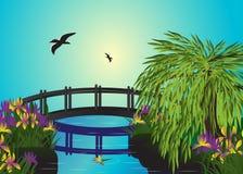 Pont. illustration libre de droits