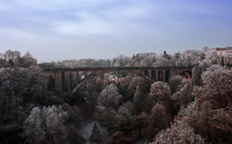 Pont Adolphe(Adolphe bridge) Royalty Free Stock Image