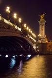 Pont Alejandro III Foto de archivo libre de regalías