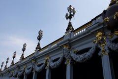 Pont Alejandro III Imágenes de archivo libres de regalías