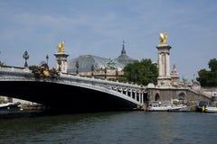 Pont Alejandro III Foto de archivo
