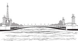 Pont Alexander III Stock Photos