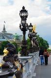 Pont Alexander III Royalty Free Stock Image