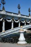 Pont Alexander III. View on Pont Alexander III in Paris, France Stock Photo