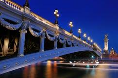 Pont Alexandre ΙΙΙ. Στοκ εικόνα με δικαίωμα ελεύθερης χρήσης