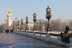 Pont Alexandre ΙΙΙ Στοκ φωτογραφίες με δικαίωμα ελεύθερης χρήσης