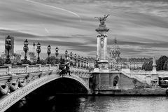 Pont Alexandre Royalty Free Stock Images