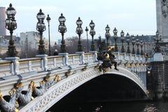 Pont Alexandre III Fotografia Stock Libera da Diritti