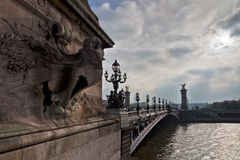 Pont Alexandre III Royalty Free Stock Photos